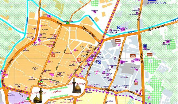 UTM نقشه