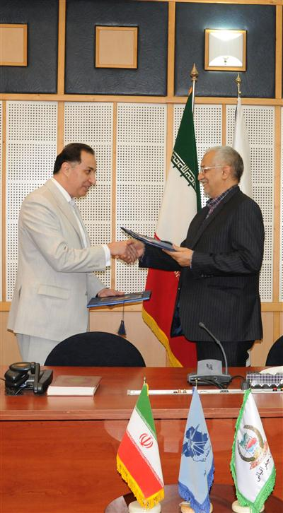 امضای تفاهمنامه همکاری در تبادل اطلاعات مکانی، نقشه و محصولات اختصاصی (1396/04/28)