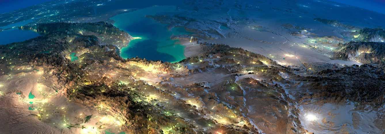 تفسیر عکس هوایی | تفسیر تصاویر ماهواره ای