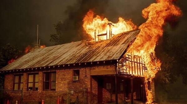 توصیه ایمنی آتش سوزی اماکن مسکونی