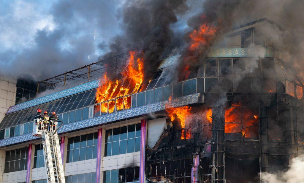 حد اکثر خسارت ناشی از آتش سوزی